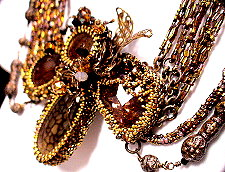 At The Ball BezelWorks Pendant With Four Stones