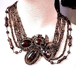 At The Ball BezelWorks Necklace