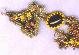 Etruscan Butterfly Bracelet