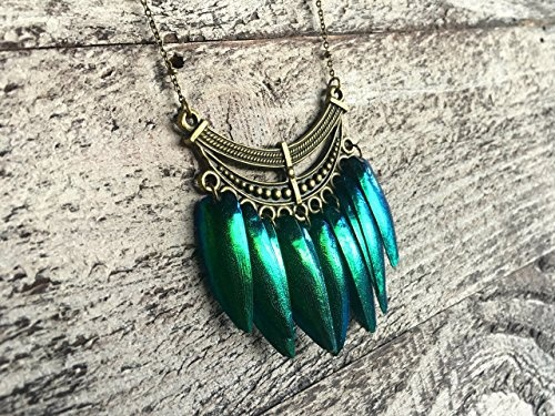 Elytra Wire Weave Necklace