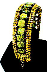 Etruscan Square Stitch Bracelet