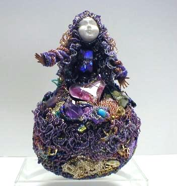 All Dolled Up: Beaded Art Doll Competition
