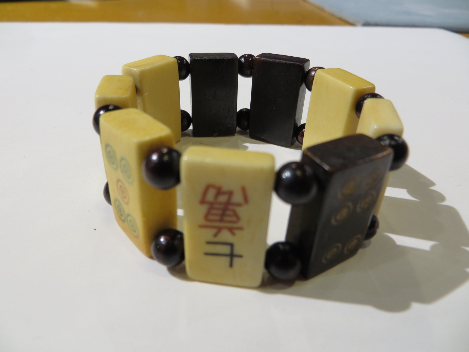 Mahjong Tile Bracelet