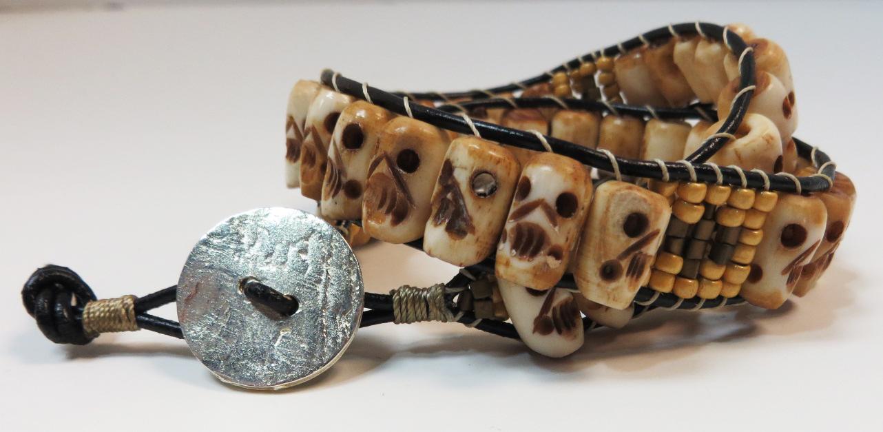 Dead Wringer Wrap Bracelet